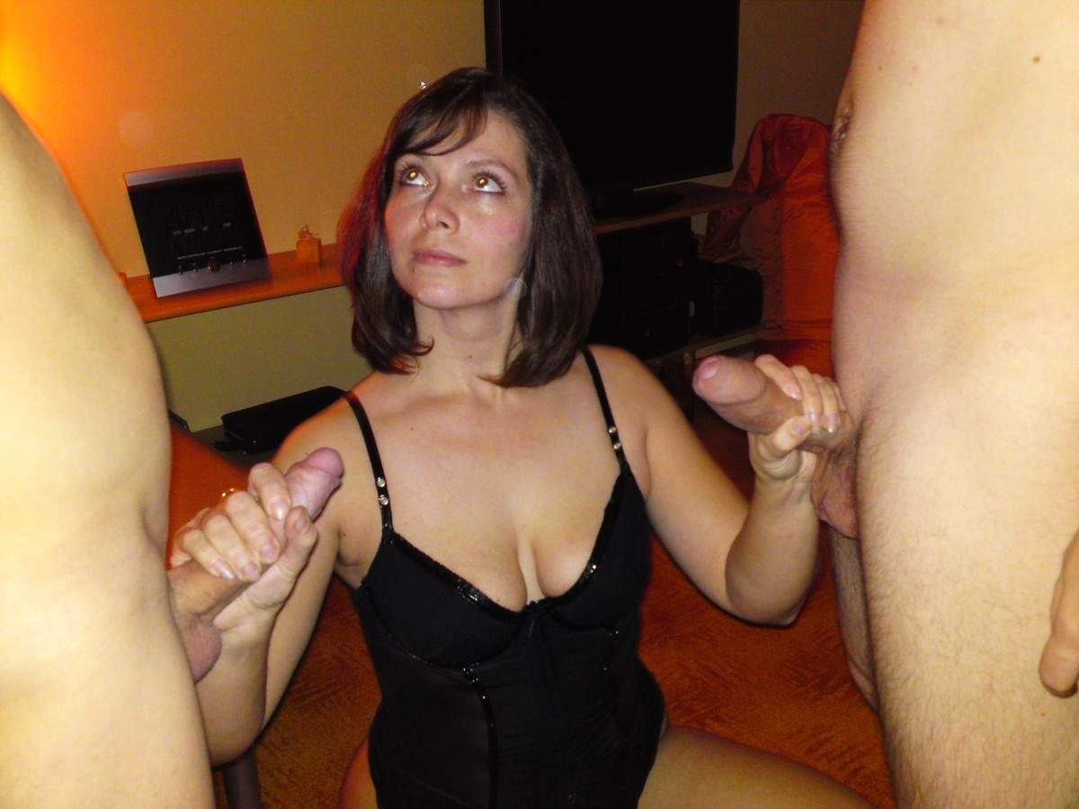 two cocks for my wife