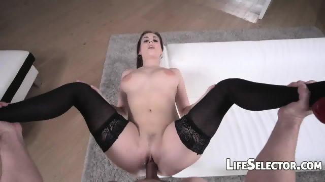 Pofukana v sexy perilu